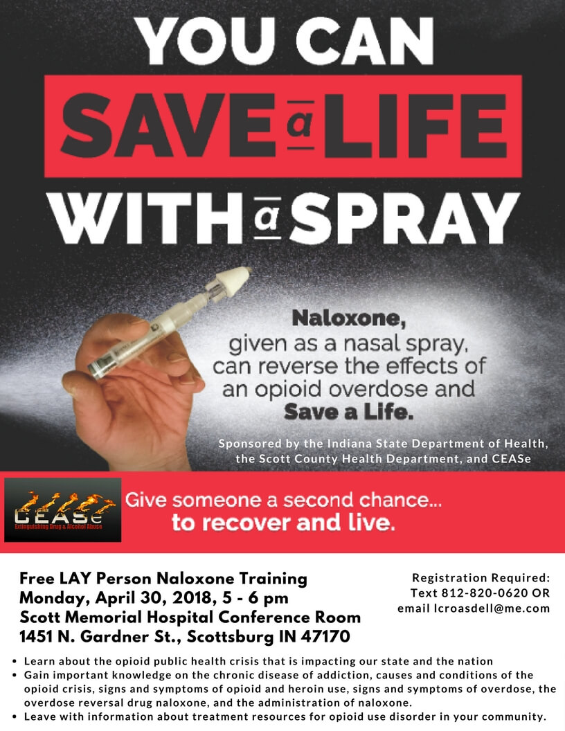 FREE Lay Person Naloxone Training