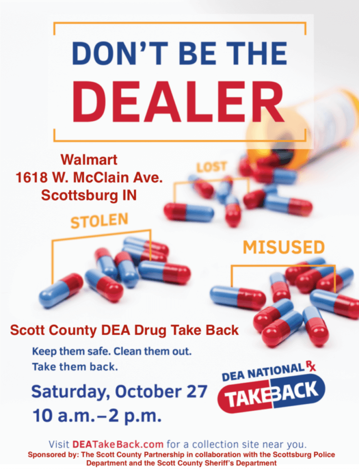 DEA Take Back Oct 2018