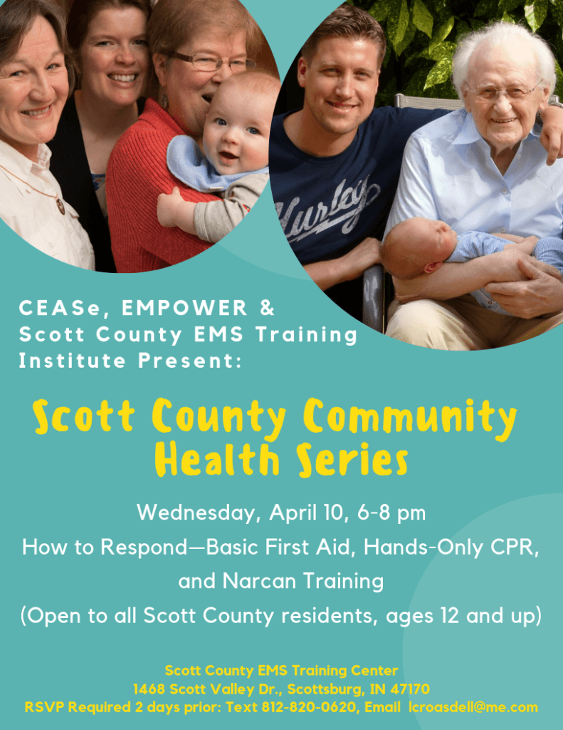 April 10 Scott Co Comm Health Series