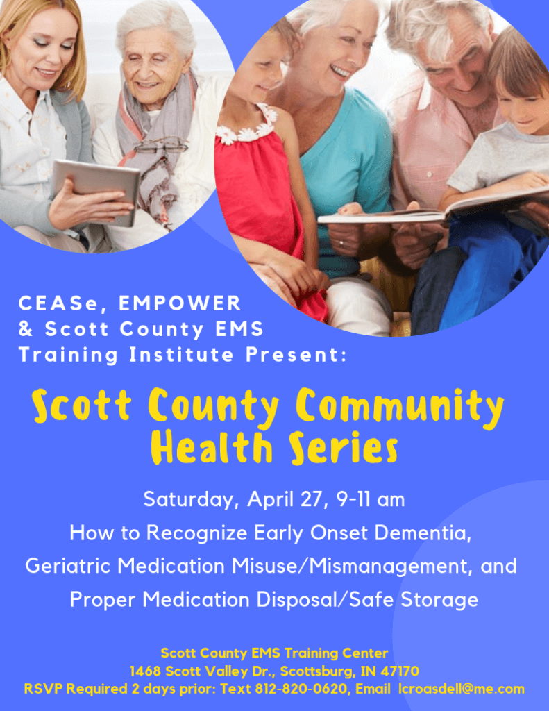 April 27 Scott Co Comm Health Series