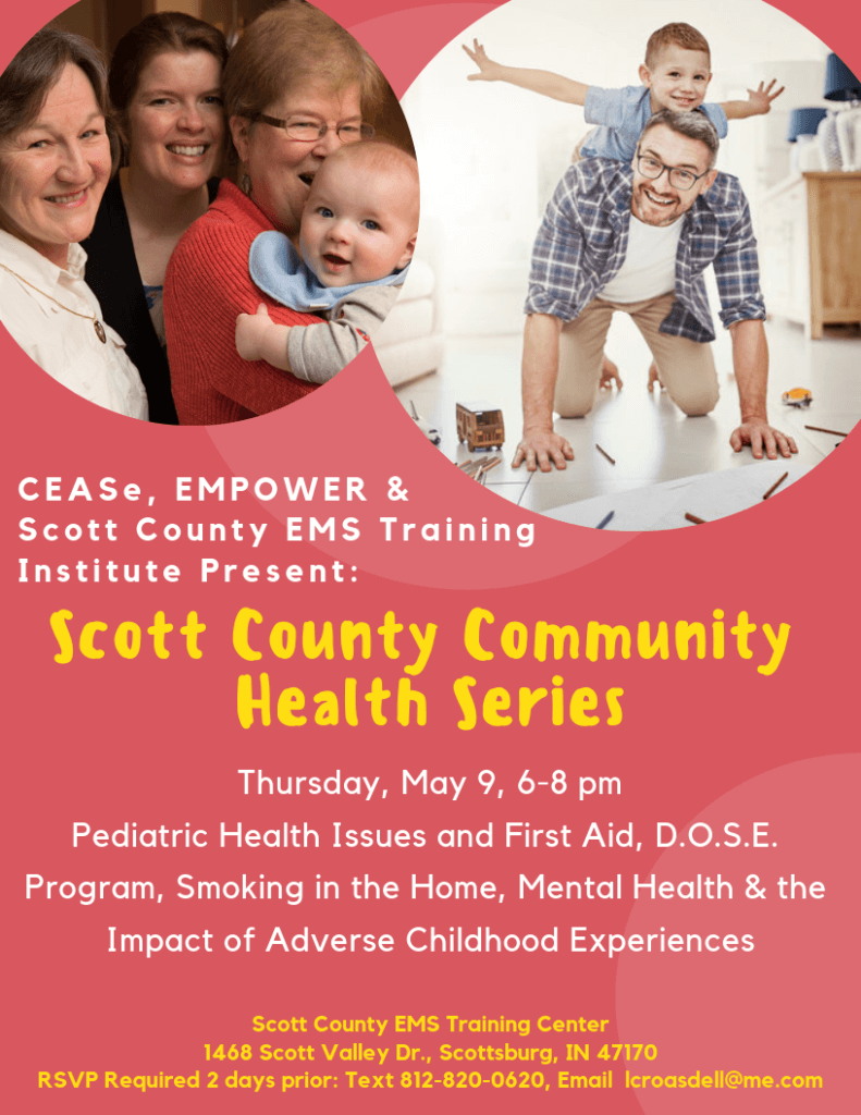 May 9 Scott Co Comm Health Series